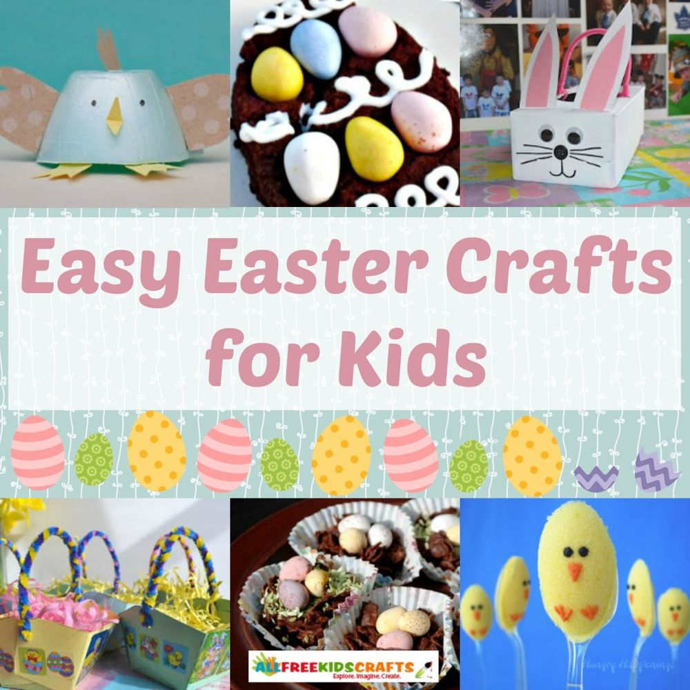 45 easy easter crafts for kids for Easter crafts for elementary students