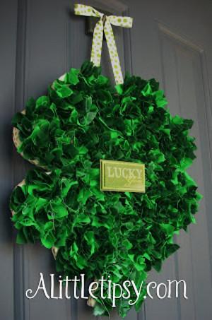 Sham-Rockin' Wreath