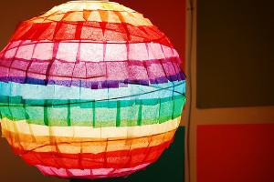 St. Paddy's Rainbow Lantern