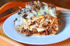 Loaded Cheesy Meaty Casserole