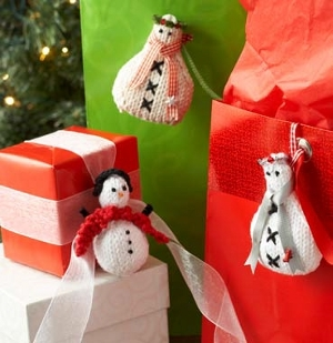 Three Wise Snowmen Ornaments