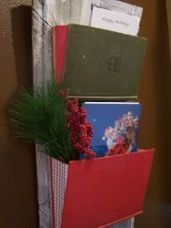Altered Book Card Holder