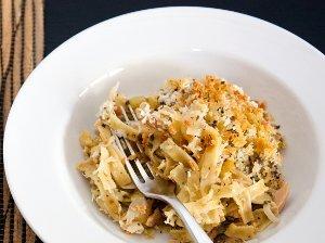 Classed Up Tuna Noodle Casserole