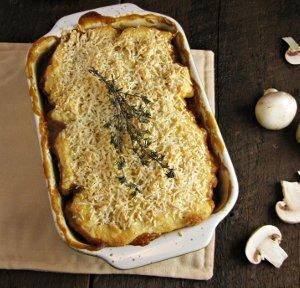 Mushroom and Lentil Pot Pies