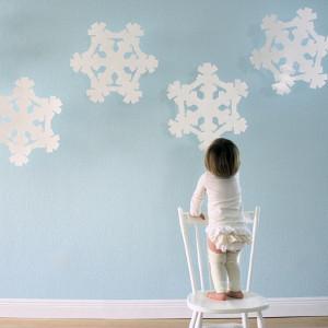Super-Sized Flakey Snow Craft
