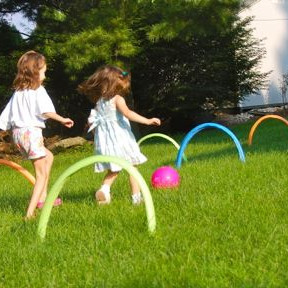 Kick Croquet Kids' Game