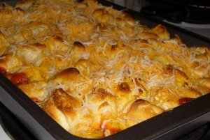 Pizza Biscuit Casserole