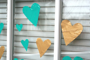 Mod Podge Heart Decals