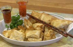Crab Rangoon Pockets