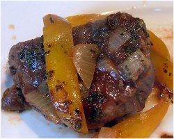 Slow Cooker Peppercorn Steak