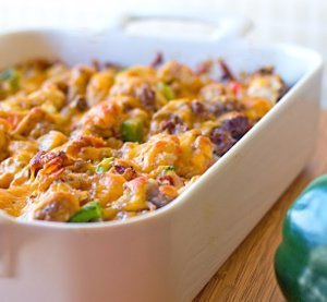 Twisted Tater Tot Casserole