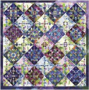 Daylily Fields Star Quilt