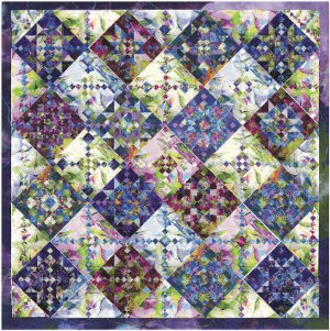 Daylily Fields Star Quilt