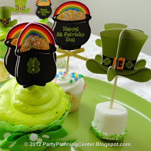 Pot O' Gold Cupcake Picks