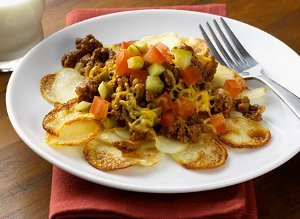 Cheeseburger Potato Casserole