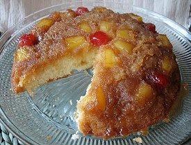 Skillet Pineapple Upside Down Cake | RecipeLion.com