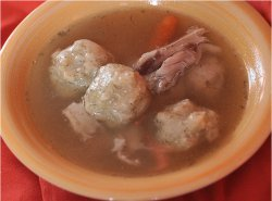 Slow Cooker Matzo Ball Soup