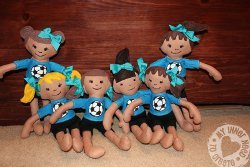 Soccer Sister Doll