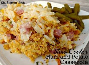 Slow Cooker Ham and Potato Casserole