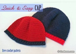 Quick and Easy Crochet Hat