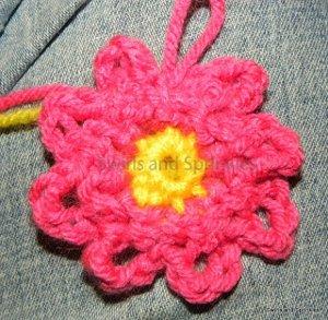 Loopy Spring Flower