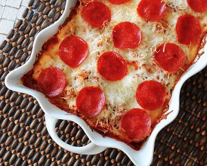 Mama's Easy Pizza Casserole