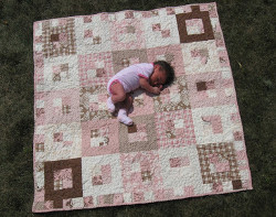 Luscious Layer Cake Baby Quilt