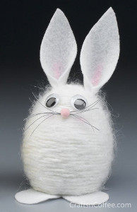 yarn scrap bunny
