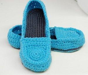 Womens Crochet Loafers Pattern