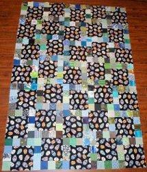 11 Patch Scrap Quilt