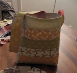 Jelly Roll Reversal Tote