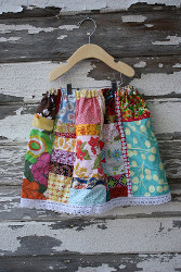 Scrappy Spring Skirt