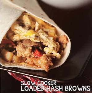 Slow Cooker Loaded Hash Browns