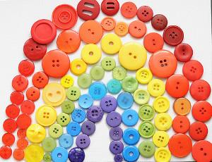 Button Rainbows
