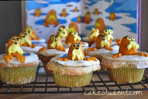 Dr. Seuss Cupcakes