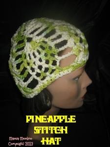 Pineapple Stitch Hat