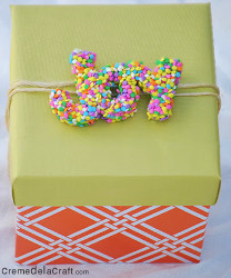 Silly Sprinkly Gift Topper