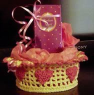 Crochet Gift Basket