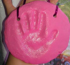 Salt Dough Handprints