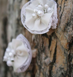 Pretty Petal Pearl Earrings