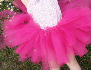 No Sew Easy Fairy Tutu