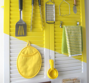 Radical Repurposed Door Organizer