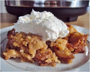 Simple Slow Cooker Apple Pie