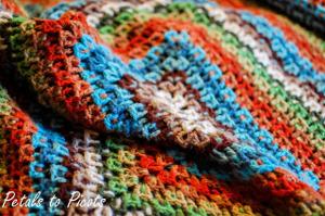 Kaleidoscope Crochet Afghan Pattern