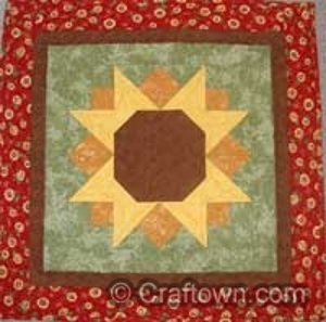Sunshine Sunflower Table Topper Favequilts Com