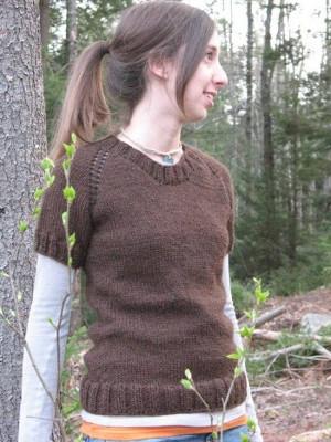 Сверху вниз Весна свитера
