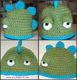 Everyone's Favorite Dinosaur Hat