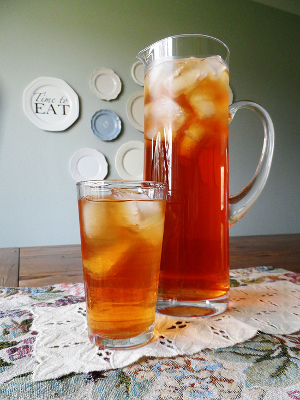 Copycat Olive Garden Peach Tea