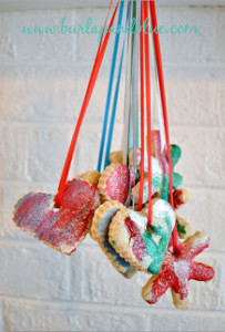Salt Dough Cookie Ornaments