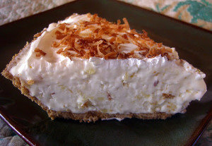 Make Ahead Pina Colada Pie
